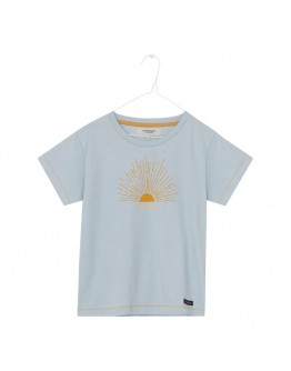 A MONDAY - T shirt Sun - Pearl Blue