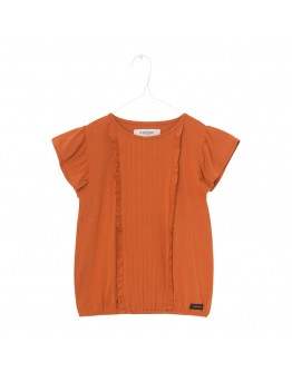 A MONDAY - T shirt Sif blouse - Rust