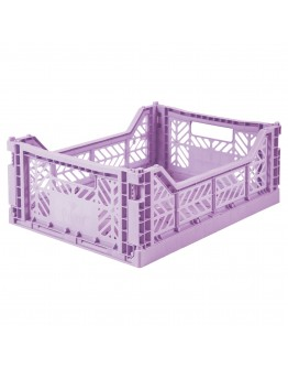 AYKASA - Folding crate Midi - Orchid