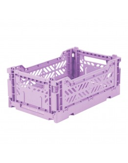 AYKASA - Folding crate Small - Orchid