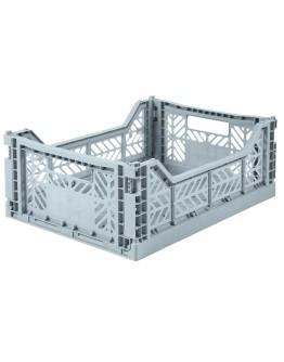 AYKASA - Folding crate Midi - Pale blue