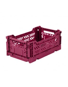 AYKASA - Folding crate Small - Chilli pepper