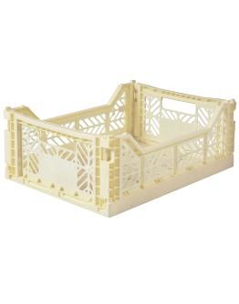 AYKASA - Folding crate Midi - Banana
