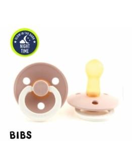 BIBS - Speen Glow in the dark - Blush - maat 2 (6-18 mnd)