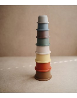 MUSHIE - Stacking cups stapeltoren Retro