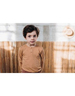 BLOSSOM KIDS - Long sleeve shirt- Deep Camera