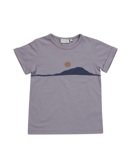 BLOSSOM KIDS - T shirt Sunset - Lilac grey