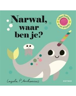 Kartonboek - Narwal, waar ben je? 18 mnd+