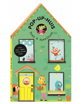 Pop up boek - Huis