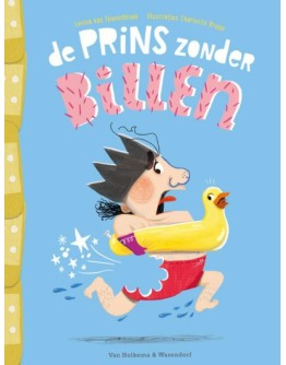 KINDERBOEK - de Prins zonder billen - 3jr+