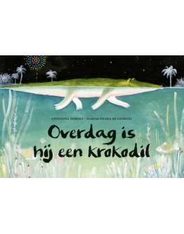 Kinderboek - Overdag is hij een krokodil - 4jr+
