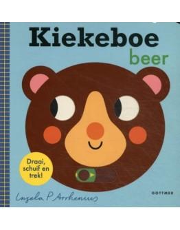 Kartonboek - Kiekeboe beer