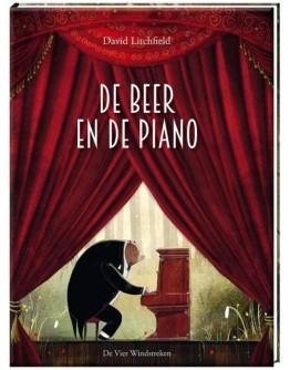 KINDERBOEK - De beer en de piano - 4jr+