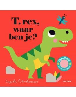 Kartonboek - T-Rex, waar ben je? 18 mnd+