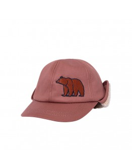 CARLIJN Q - Grizzly - cap with embroidery & teddy lining