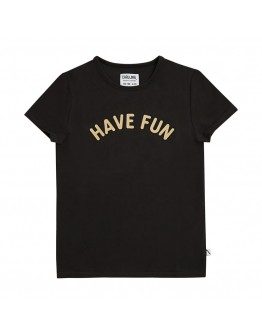 CARLIJN Q - Have fun - T shirt with print black