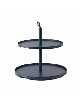 DESIGNBITE - Big Hug Cake stand 2 levels - Midnight blue