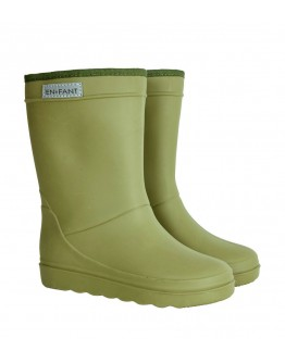 ENFANT - Thermoboots solid - Dusty Olive