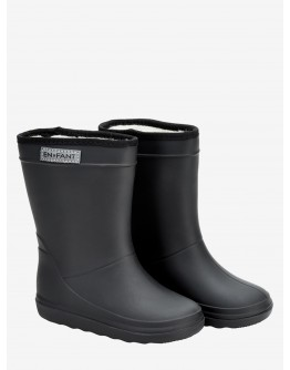 ENFANT - Thermoboots solid - Black