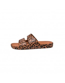FREEDOM MOSES - Slippers Leo Toffee - Maat 26/27