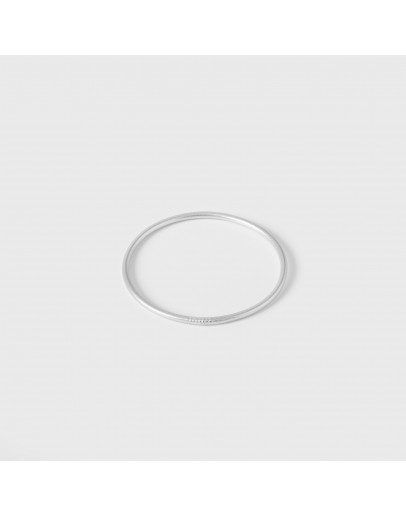 GIRL NAMED SUE - Mantra armband - extra dun - Silverleaf