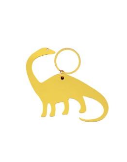 GLOBAL AFFAIRS - Keyring Dinoaur Gold