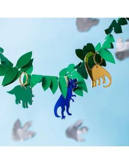 GLOBAL AFFAIRS - Keyring Dinoaur Blue