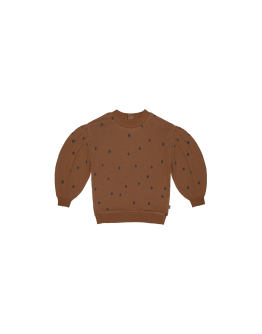 HOUSE OF JAMIE - Balloon sweater - Ginger Bread Dots