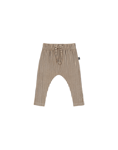 HOUSE OF JAMIE - Baby pants - Charcoal Sheer Stripes