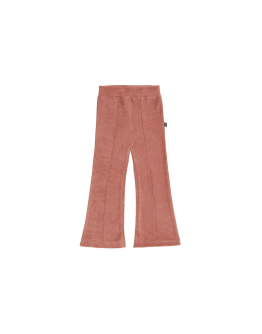 HOUSE OF JAMIE - Flared pants - Baked clay