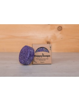 HAPPY SOAPS - Shampoo bar - Purple rain - Normaal haar & roos