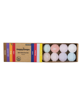HAPPY SOAPS - Mini Bath Bombs - Herbal Sweets