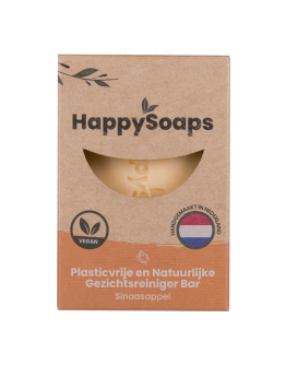 HAPPY SOAPS - Gezichtsreiniger bar - Sinaasappel
