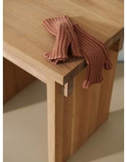 LIEWOOD - Finn fingerless mittens : Tuscany rose