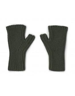 LIEWOOD - Finn fingerless mittens : Hunter green