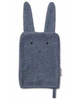 LIEWOOD - Sylvester washcloth - Bunny blue