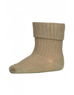 MP DENMARK - Cotton rib baby socks - 3009 Green