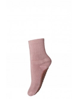 MP DENMARK - Cotton socks with anti slip - 870 Rose