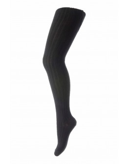 MP DENMARK - Adult - Cotton rib tights -  8 Black