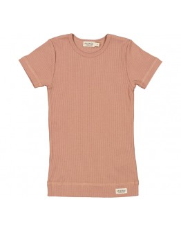 MARMAR COPENHAGEN - T shirt Plain Modal - Rose brown