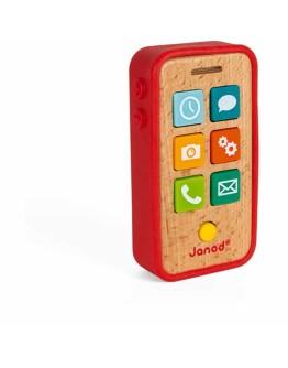 JANOD - Houten telefoon met geluid