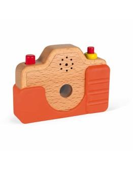 JANOD - Houten camera met geluid