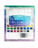 OOLY - Chroma blends travel watercolor palette