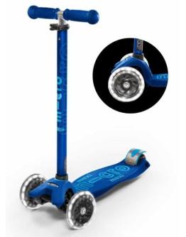 MICRO STEP - Maxi micro step Deluxe  LED - Marineblauw