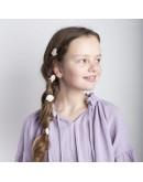 MIMI AND LULA - Set haar elastieken - Shimmer Shell