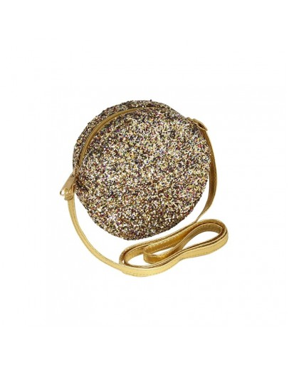 MIMI AND LULA - Lula round glitter bag