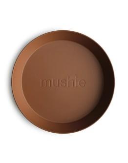 MUSHIE - Bord rond - set van twee - Caramel