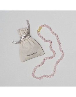 NIRRIMIS - Dames ketting Rose quartz