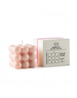 ELATE & CO - BUBBLE CANDLE Pink