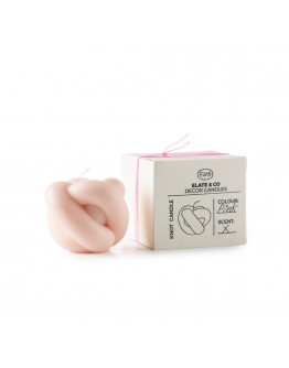 ELATE & CO - KNOT CANDLE Pink
